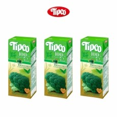 [팁코] 브로콜리 주스 600ml(200mlx3)-TIPCO BROCCOLI JUICE
